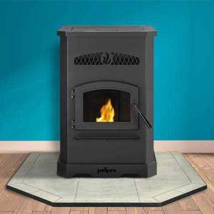 pelpro pellet stove pp130 in room-woodpelletfacts.com
